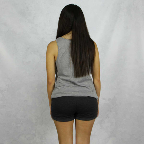 Alpha Phi Shorts in Charcoal Back