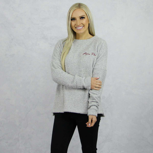 Alpha Phi Fleece Sweatshirt by Sorority Specialties | Alpha Phi Store