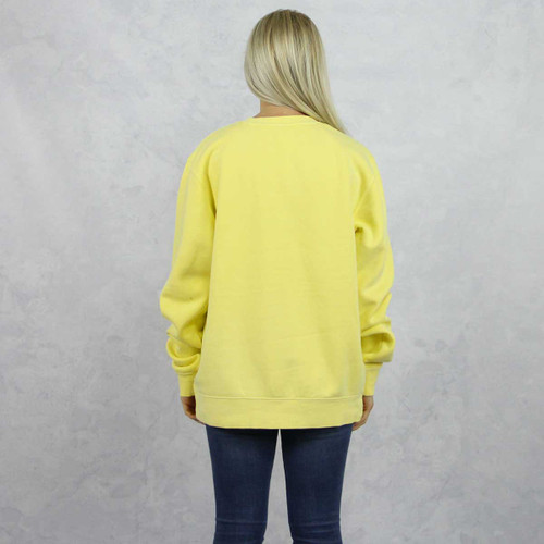 Kappa Kappa Gamma Embroidered Sweatshirt in Yellow now on Kappa Kappa Gamma Store, back.