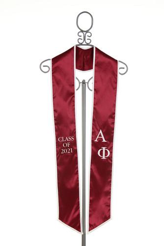 Alpha Phi Graduation Stole - Class of 2021
