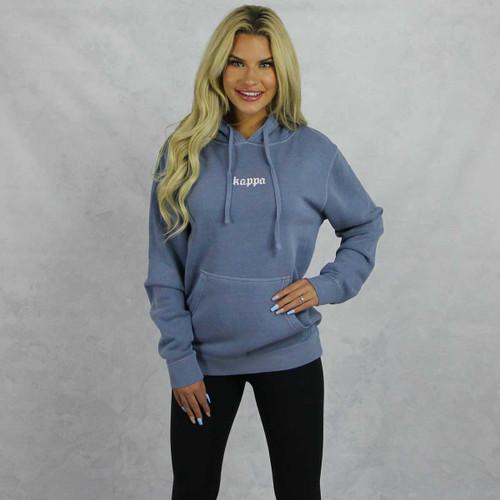 Kappa Kappa Gamma Blue Hoodie