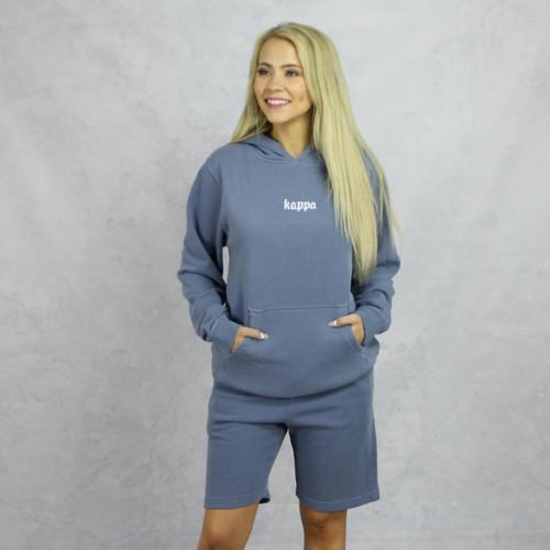 Kappa Kappa Gamma Blue Hoodie and Shorts