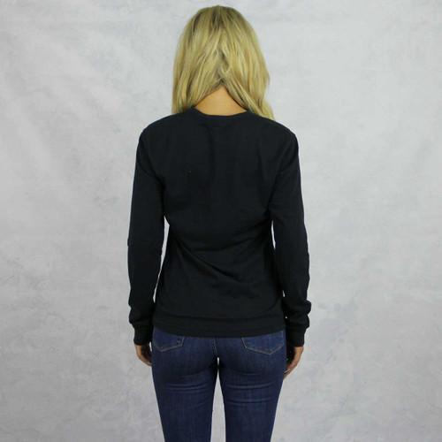 Gamma Phi Beta Long Sleeve Shirt in Black Back