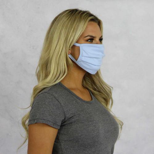 Alpha Chi Omega Face Mask Blank Side