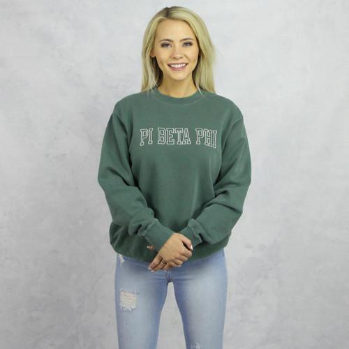 Pi Beta Phi Embroidered Sweatshirt