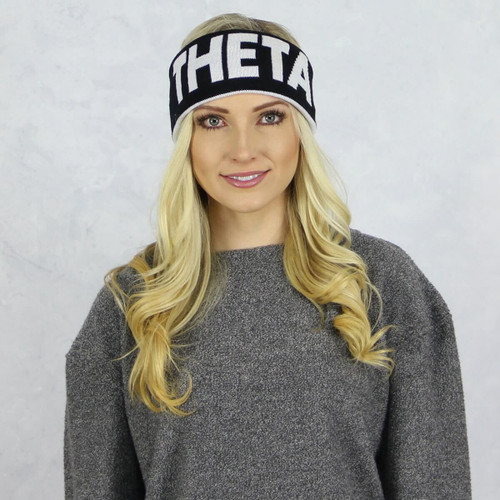 Kappa Alpha Theta Reversible Headband and Ear Warmer