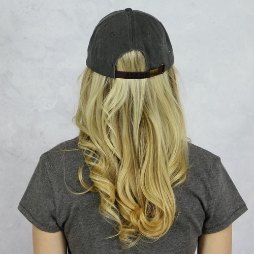 Kappa Alpha Theta Baseball Hat in Gray Back
