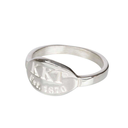 Kappa Kappa Gamma Silver Ring