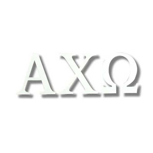 Alpha Chi Omega Sticker Large