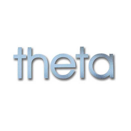 Kappa Alpha Theta Sticker in Silver