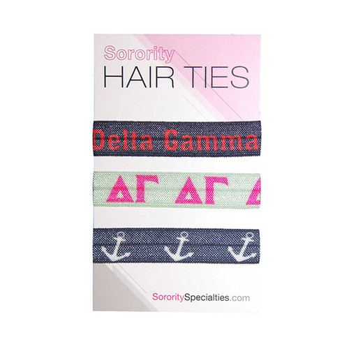 Delta Gamma Hair Ties