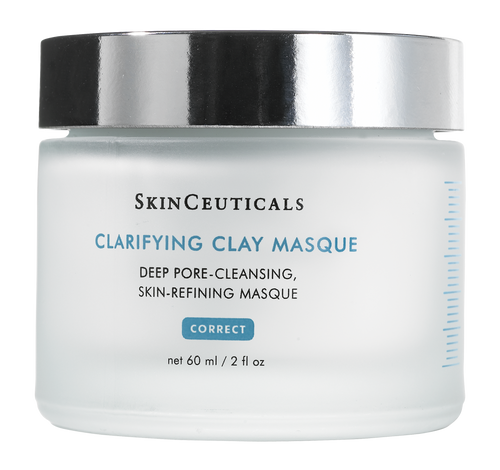 Purifying treatment masque with mixed hydroxy acids, natural clays, and calming botanicals decongests pores and minimizes excess oil