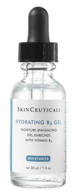 Moisture-enhancing gel with hyaluronic acid replenishes hydration and nutrients to smooth and soften the skin.