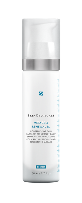 Comprehensive daily emulsion to correct early symptoms of photoaging.