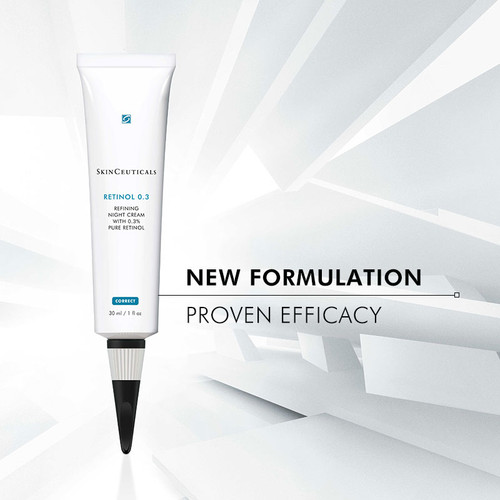 Concentrated facial cream with 0.3% pure retinol