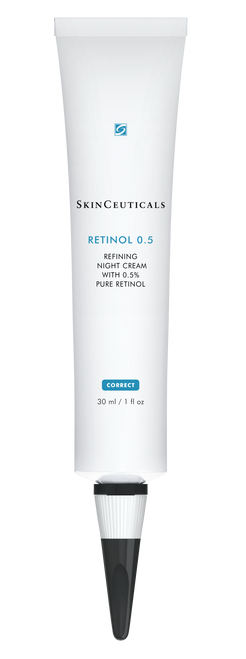 Refining night cream with 0.5% pure retinol
