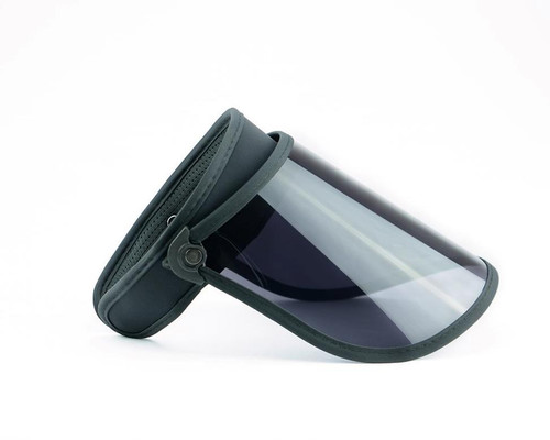 Black Full Sunshield with 99% UVA/UVB protection. Excellent for everyday use or after a procedure.