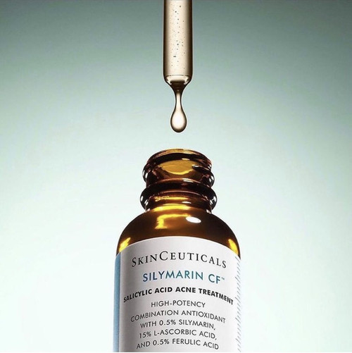 Antioxidant vitamin C serum for oily and blemish prone skin.
