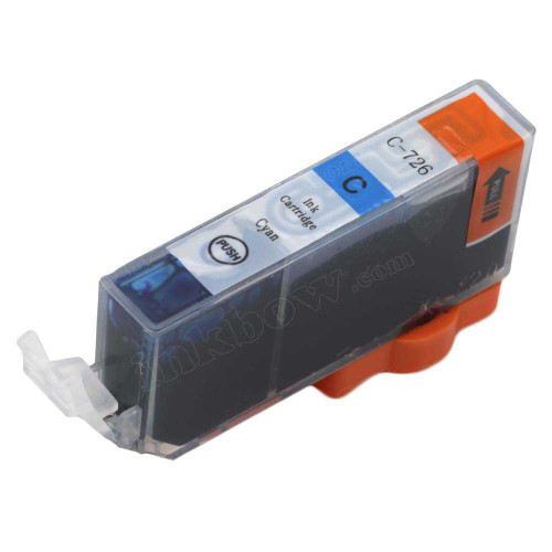 Compatible CLI-726c Cyan Ink Cartridge For Canon Printers