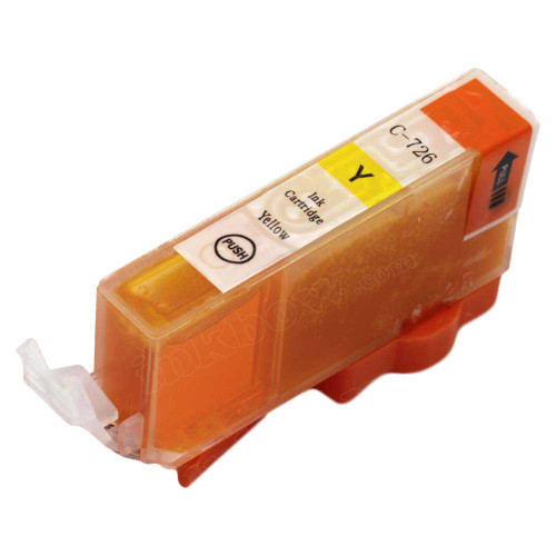 Compatible CLI-726y Yellow Ink Cartridge For Canon Printers
