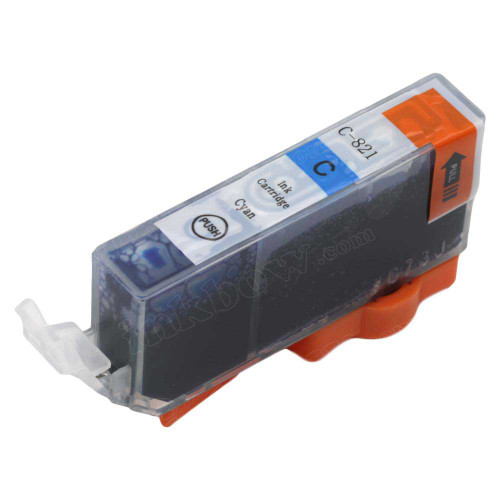 Compatible CLI-821C Ink Cartridge for Canon Printers
