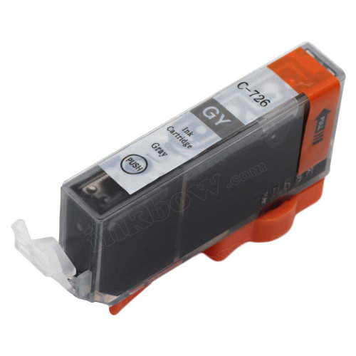 Compatible CLI 726GY Grey Ink Cartridge For Canon Printers