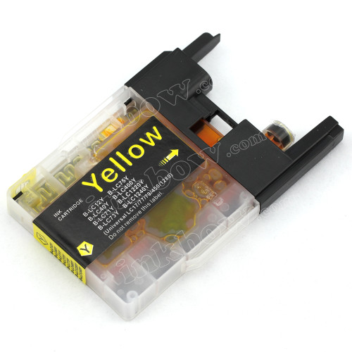 Compatible Brother LC40Y Yellow ink cartridge