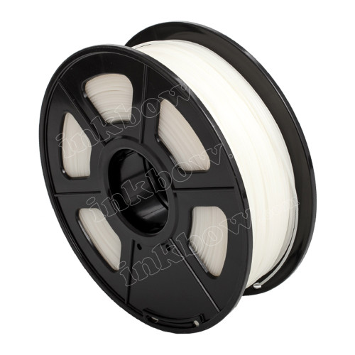 1.75mm White HIPS Filament for 3D Printers