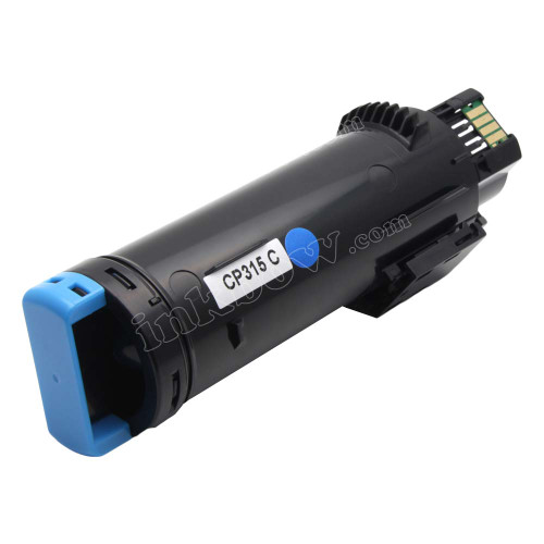 Compatible CT202607 Cyan Toner Cartridge for Fuji Xerox Printers