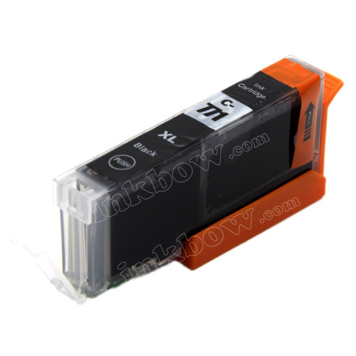 Compatible CLI-771BK-XL Black Ink Cartridge for Canon Printers (High Yield)