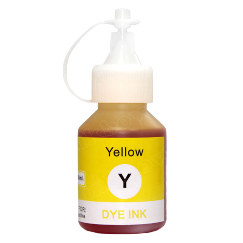 Compatible BT5000Y Yellow Ink Bottle for Brother Printer