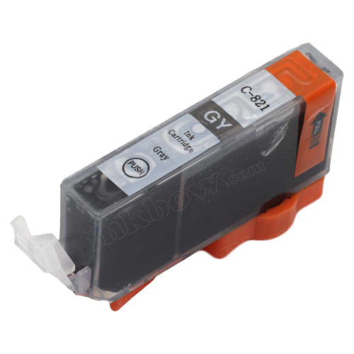 Compatible CLI-821GY Ink Cartridge for Canon Printers