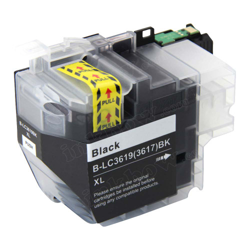 Compatible LC3617BK Black Ink Cartridge for Brother Printer