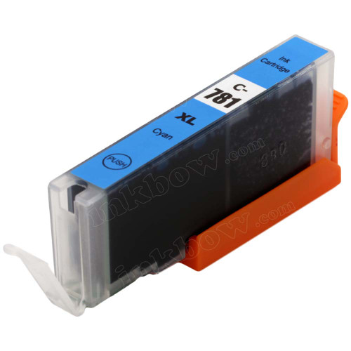 Compatible CLI-781C-XL Cyan Ink Cartridge for Canon Printer (High Yield)