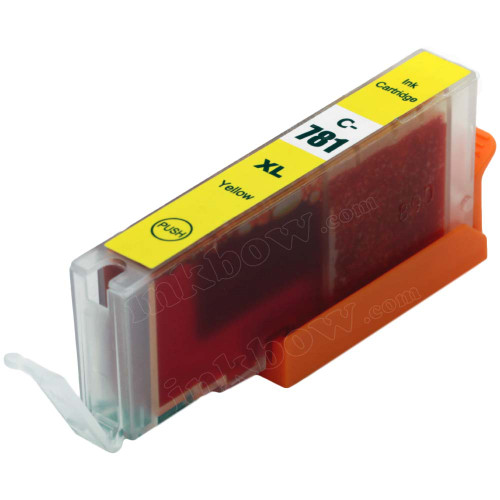 Compatible CLI-781Y-XL Yellow Ink Cartridge for Canon Printer (High Yield)