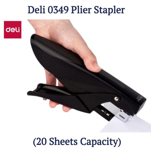 Deli 0349 Plier stapler (20 Sheets Capacity)