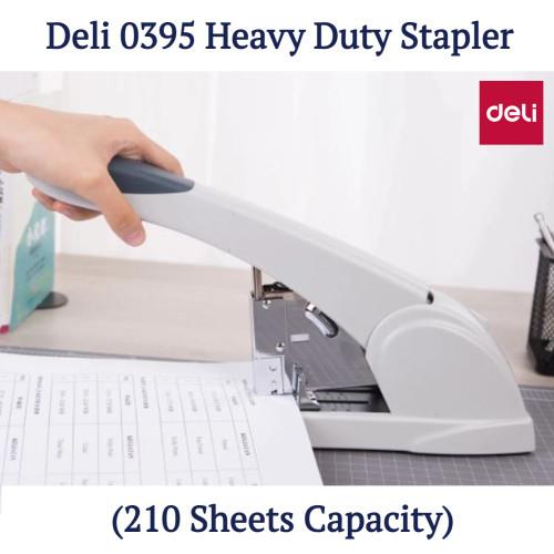 Deli 0395 Heavy Duty Stapler (210 Sheets Capacity)