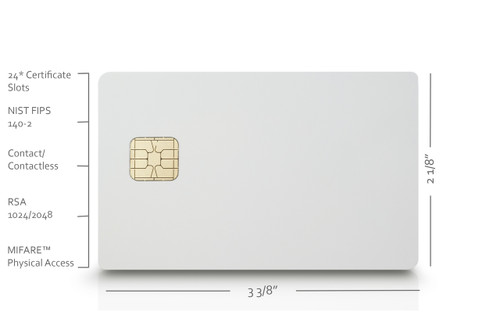 Pivkey Certificate Based Pki Smart Card For Authentication