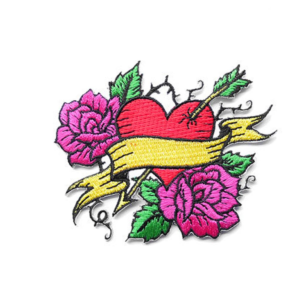 Tattoo Heart Patch