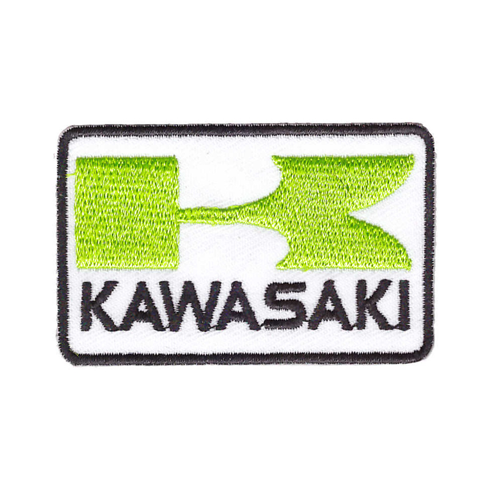 Kawasaki Big K Motorbike Patch