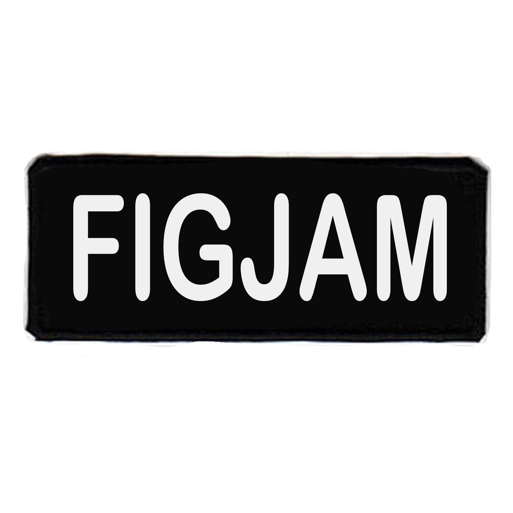 Figjam embroidered patch