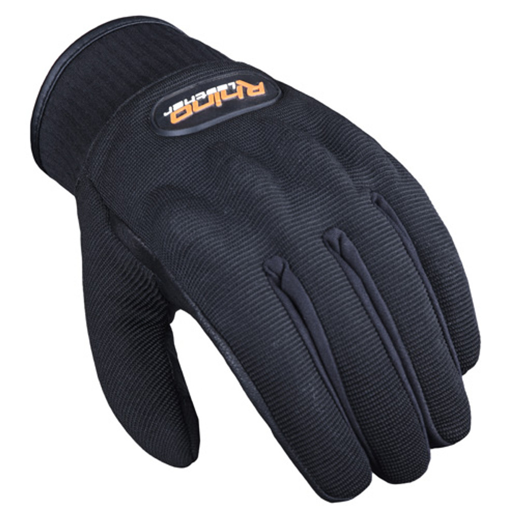 Touchscreen Leather & Textile Motorcycle Gloves