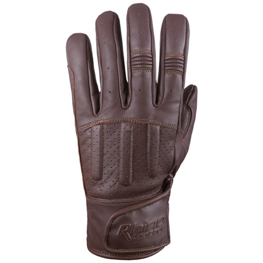 Brown Motorcycle Gloves