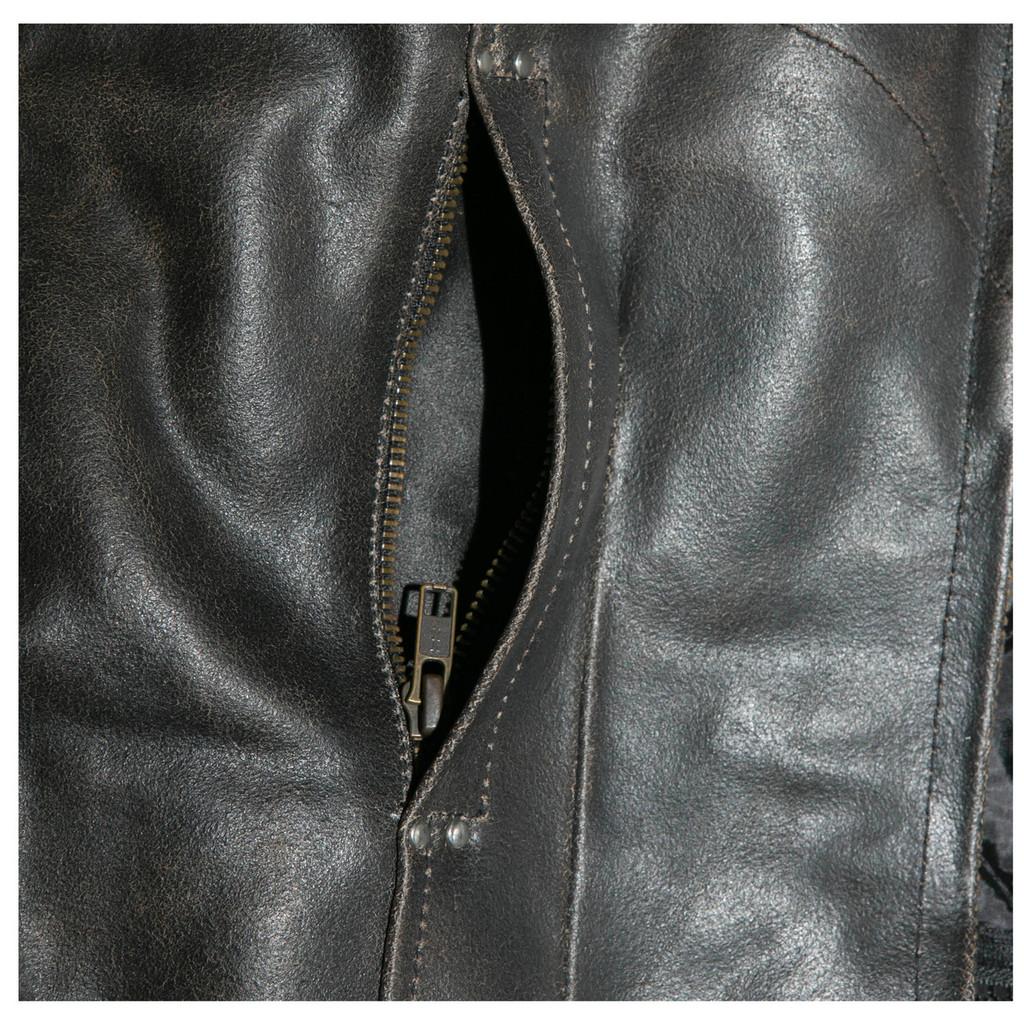 Zip hand pockets