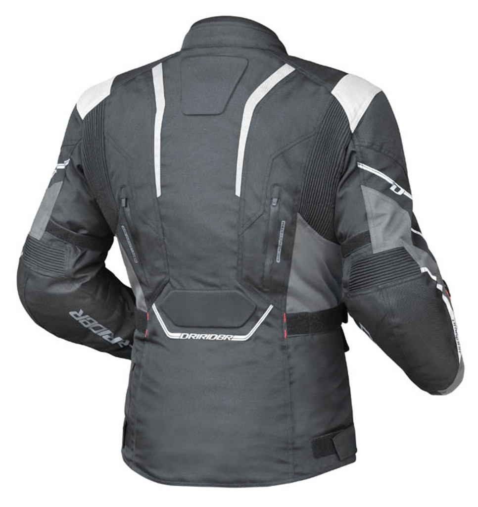 Dririder Apex 5 Jacket Blk/Wht/Grey
