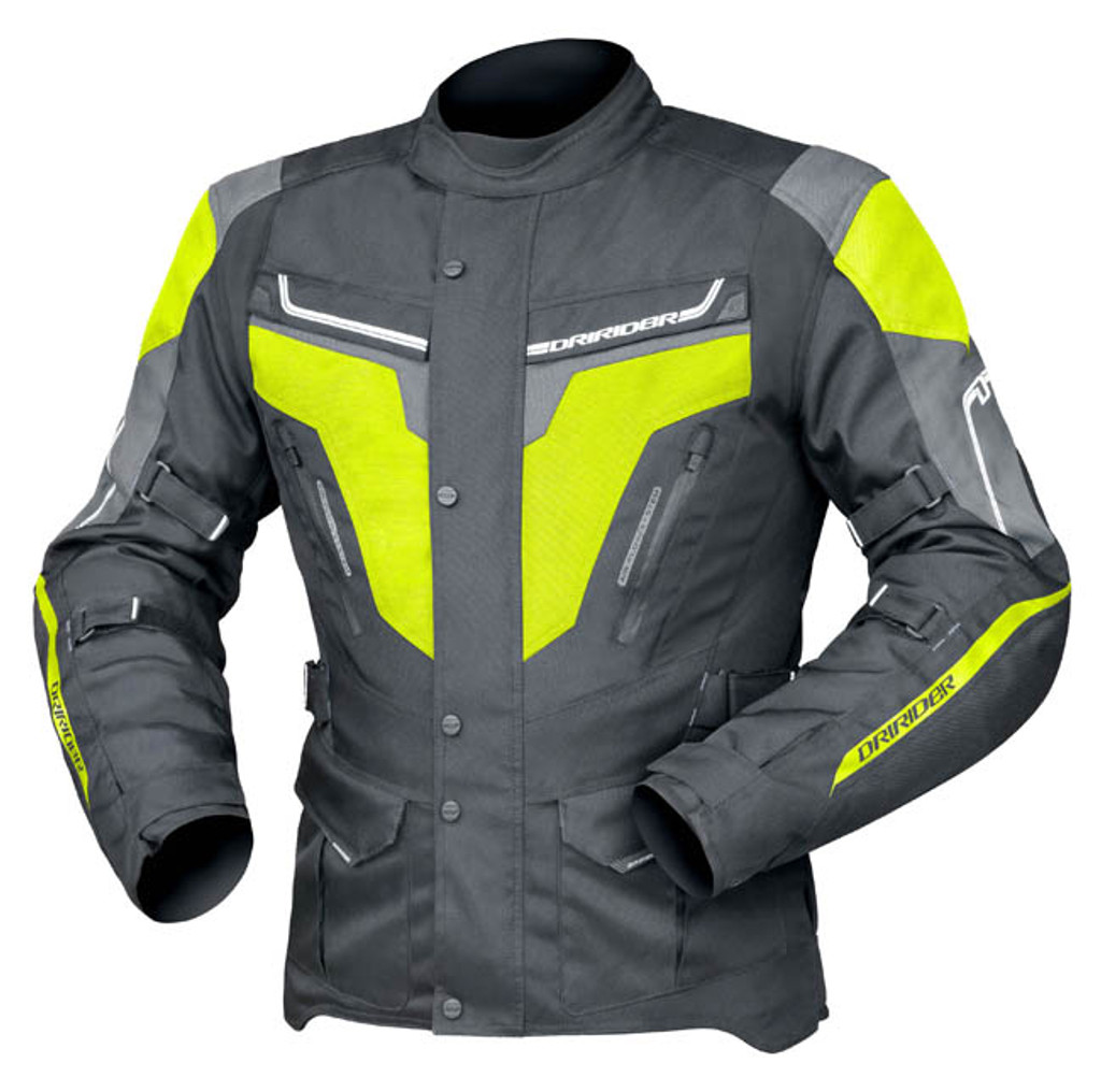 Dririder Apex 5 Jacket Blk/Yellow