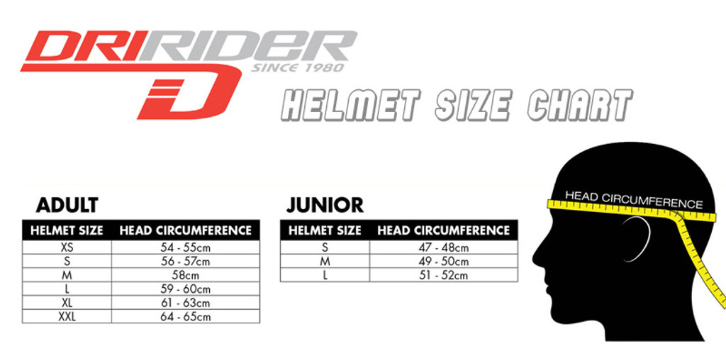 Dririder Base Open Face Helmet - White Gloss Finish