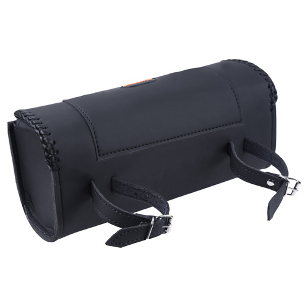 Square Motorcycle Leather Toolbag