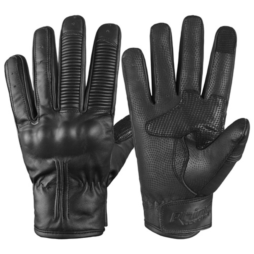 Knuckle protection motorcycle glove