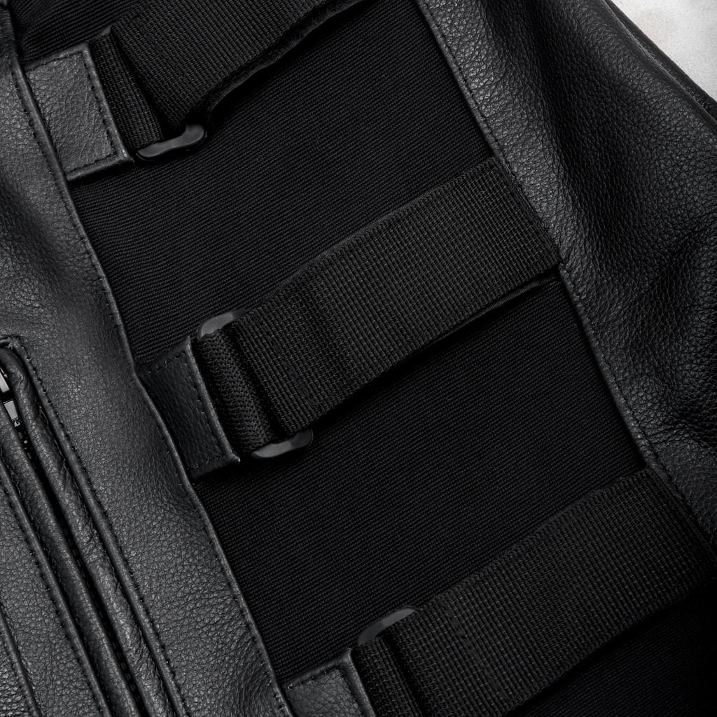 SWATLeather Vest Anarchy w/ Adjustable Side Straps